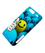 Thumb Up Smiley Smile Emoticon Dot Ball Motorola Droid Razr XT912 Hardsh... - €12,04 EUR