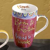 "Joyce Shelton ""Just a Job Ceramic Mug 13oz  Entertainer"