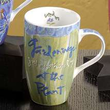 "Joyce Shelton ""Just a Job Ceramic Mug 13oz Gardener - $17.81"