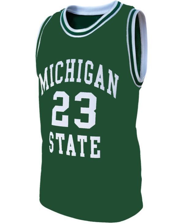 Draymond green michigan basketball jersey green   1