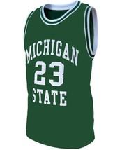 Draymond Green #23 College Basketball Custom Jersey Sewn Green Any Size image 1