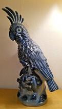 Castilian Ceramics - Cockatoo - No. 5519 - Gorgeous Cobalt Blue - 17.5 i... - $400.00