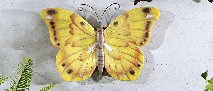 Monarch Butterfly Polystone Wall Plaque
