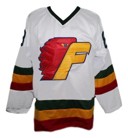 Custom name   philadelphia firebirds retro hockey jersey white   1