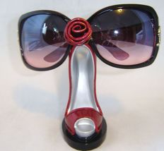Red Stilleto Shoe Eyeglasses Sunglasses Holder image 3