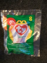 1998 McDonald's Teenie Beanie Baby Scoop The Pelican New # 8 In Series - $1.35
