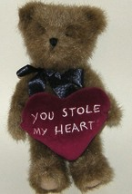 50% off! Boyds Bears Little Plush You Stole My Heart Bear  - $2.00