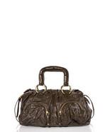 Bulga Misa Brown Patent Leather Satchel $765++ - $199.99