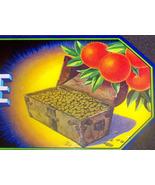 Rare! Herlong's Treasure Crate Label, 1950's  - $4.99