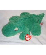 Ty Pluffies Chomps Greem Alligator Plush Stuffe... - $7.98