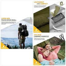 Covacure Camping Hammock with Mosquito Net - Lightweight Double Hammock,... - $45.51
