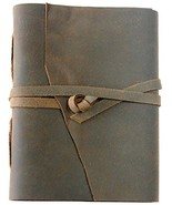 Stoke Your Wanderlust - Leather Journal, Travel Diary, Notepad, Scribble... - $29.89