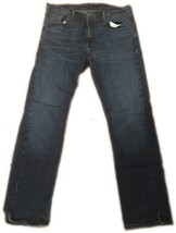 Levi 553 relaxed fit straight leg grunge jean tag 36x34 men's AA68 - $14.50