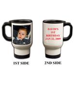 Custom Photo Travel Mugs, 16oz Personalized Gift - $19.99
