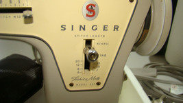 Vintage Singer 237 with foot pedal, case unit # 3 TESTED - $148.45