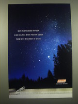 2000 Coleman Products Ad - Why paint clouds on your kids' ceilings - $14.99