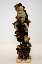 Boyds Bears  Bearly Nick and Buddies  Santa Figure  Style 28001  Classic Figure - $16.92
