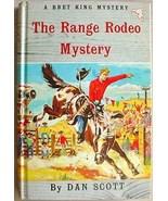 Bret King RANGE RODEO MYSTERY Dan Scott HC/Pic - $9.99