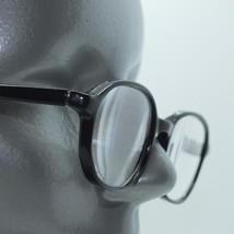Reading Glasses Librarian Frame Polished Black Polished Acrylic +3.50 Lens - $19.00