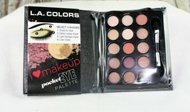 L.A. Colors Natural Darling 15 Eye Shadow Palette Matte Shimmer Pocket M... - $3.74