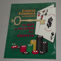 New book Corval Formula for Blackjack the key to playing for profits cas... - $5.00