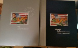 USPS 1999 Commemorative Stamp Yearbook Book Cover, Book  and sealed stamps - $44.55