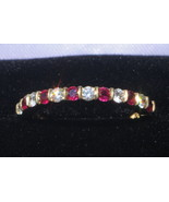 TIFFANY & CO. Diamond and Ruby Band in 18K Yellow Gold (Size 5 3/4+) - $1,150.00