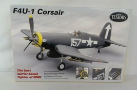 1/72 scale  Testors  American WWII F4U-1 Corsair Fighter  Kit  See Pictures - $9.99