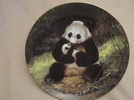 PANDA collector plate WILL NELSON Last of their Kind Endangered Species ... - $19.99