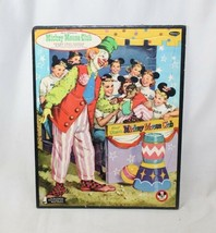 Vintage 1960s Whitman Walt Disney Mickey Mouse Club Frame Tray Puzzle #4428 Usa - $10.09