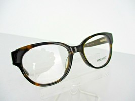 Nine West NW 5079 (206) Brown Tortoise 50 x 17 135 mm Eyeglass Frame - $37.95