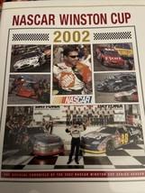 2002 NASCAR Winston Cup HTF Yearbook VGC Tony Stewart Champion - $9.90
