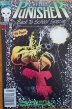 MARVEL Comic #1: The Punisher, Back to School Special, 64 pages - $7.95