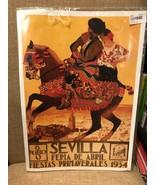 1934 Sevilla Seville Spain Europe European Vintage Repro Poster Couple O... - $12.95