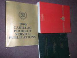 1990 90 Cadillac Allante Servizio Negozio Riparazione Manuale Set L Inte... - $99.04
