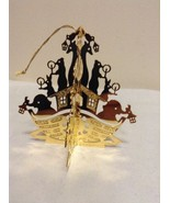 "Danbury Mint - 1988 Gold Christmas Ornament -  ""Christmas Ark"" - $15.95"