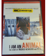 I AM AN ANIMAL: THE STORY OF INGRID NEWKIRK & PETA- DVD- NEW-DOCUMENTARY-FREEBIE - Freebie