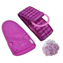 Exfoliating Gloves Dead Skin Cell Remover Set of 3 Meaningful Gifts for Women - $18.23