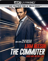 The Commuter (4K Ultra HD+Blu-ray, 2018) - $8.95