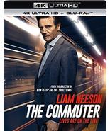 The Commuter (4K Ultra HD+Blu-ray, 2018) - $8.95
