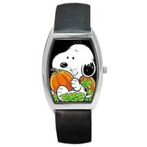 BABY SNOOPY PUMPKIN HALLOWEEN BARREL WATCH 6 OTHER STYLES! - $25.99