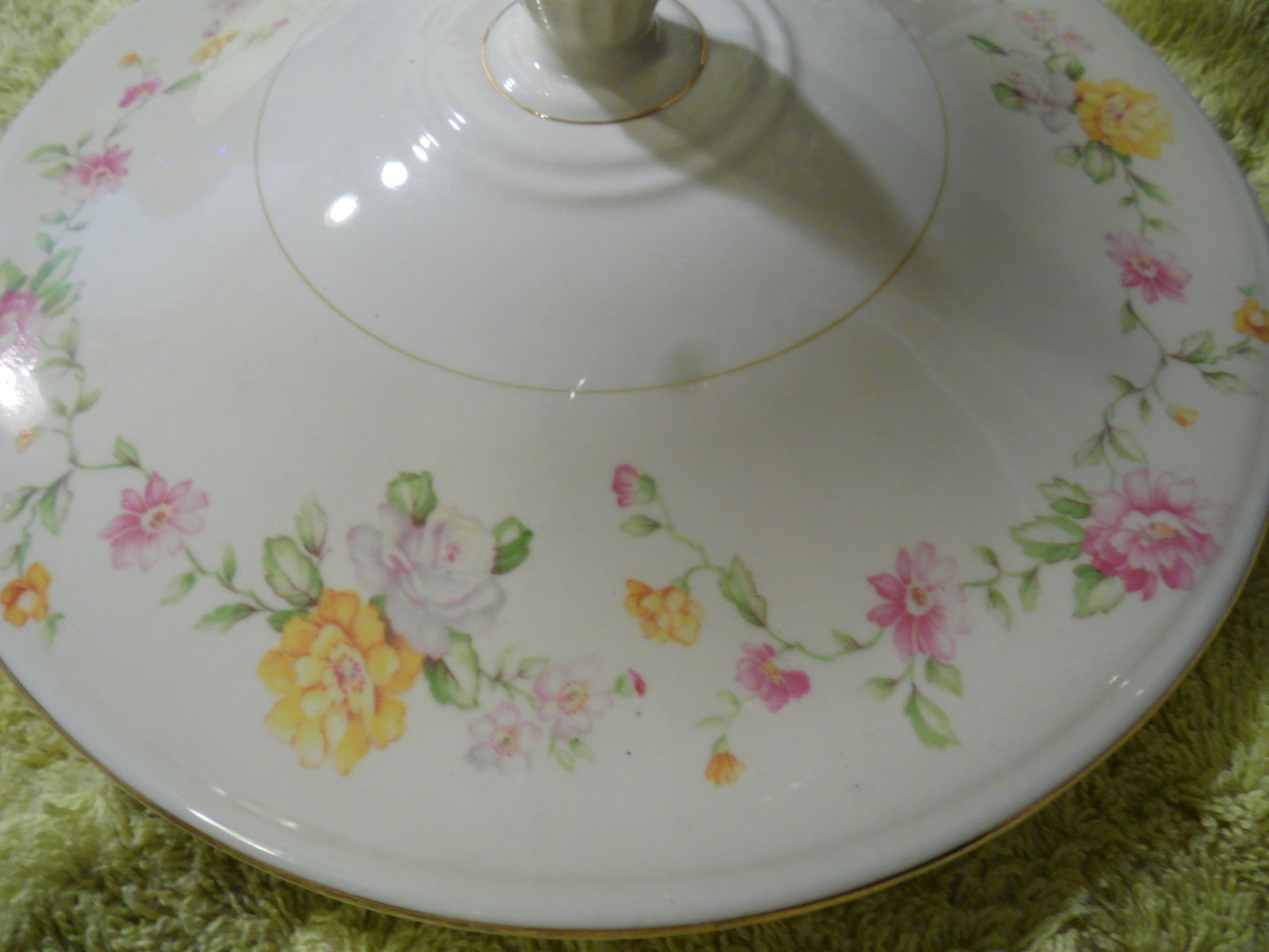 Homer Laughlin Egg Shell Nautilus  Casserole Dish Cover, Replacement  G 40 N 5