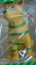 BRAND NEW IN BOX Paws Claus Dog With Ribbons 2012 Holiday Ornament, NEW - $6.92