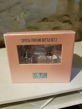 NEW IN BOX Limited Edition OLEG CASSINI Genuine Crystal SET OF 2 Perfume... - $13.99