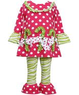 Rare Editions Little Girls 2T-6X Pink/Green Holiday Grinch Knit Top/Legg... - $29.96