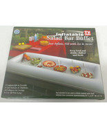 Lot of 2 - Inflatable Salad Bar Buffet Picnic Drink Table Cooler Party I... - $25.73
