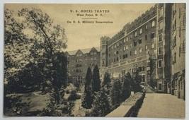 Old VTG Postcard Ad U.S. Hotel Thayer West Point Military Academy, New York - $11.71