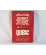 Qubic 3-D Tic Tac Toe Game 1965 Parker Brothers No. 400 Excellent 100% C... - $29.69