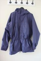 Vtg COLUMBIA Purple Rain Snow Winter Coat Jacket Parka Men's M Nylon Hood Hiking - $25.74