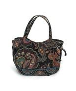 Vera Bradley Purse Kinsington Paisley Brown Quilted Hand Bag - $16.39